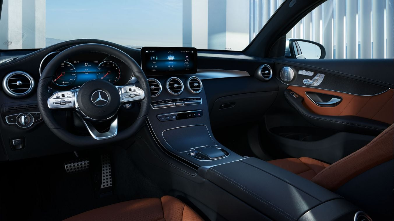 Mercedes-Benz GLC Coupe cockpit