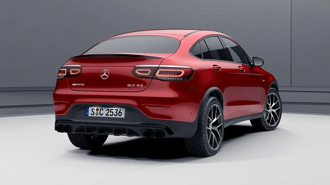 Новий автомобіль Mercedes Benz GLC Coupe MULTIBEAM LED