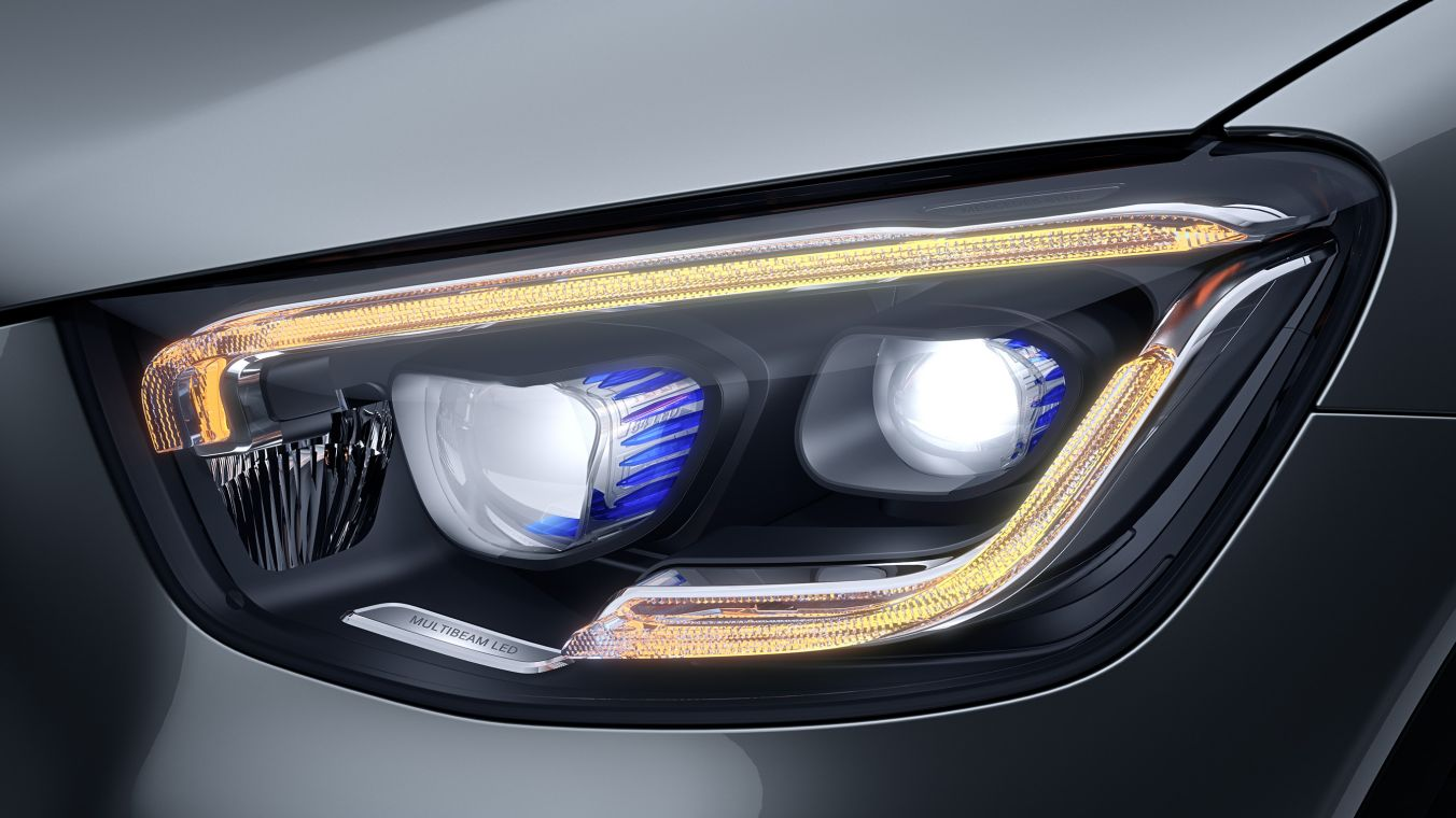 Новый Mercedes-Benz GLC Coupe MULTIBEAM LED