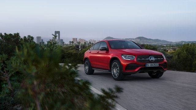 Автомобіль Mercedes-Benz GLC Coupe