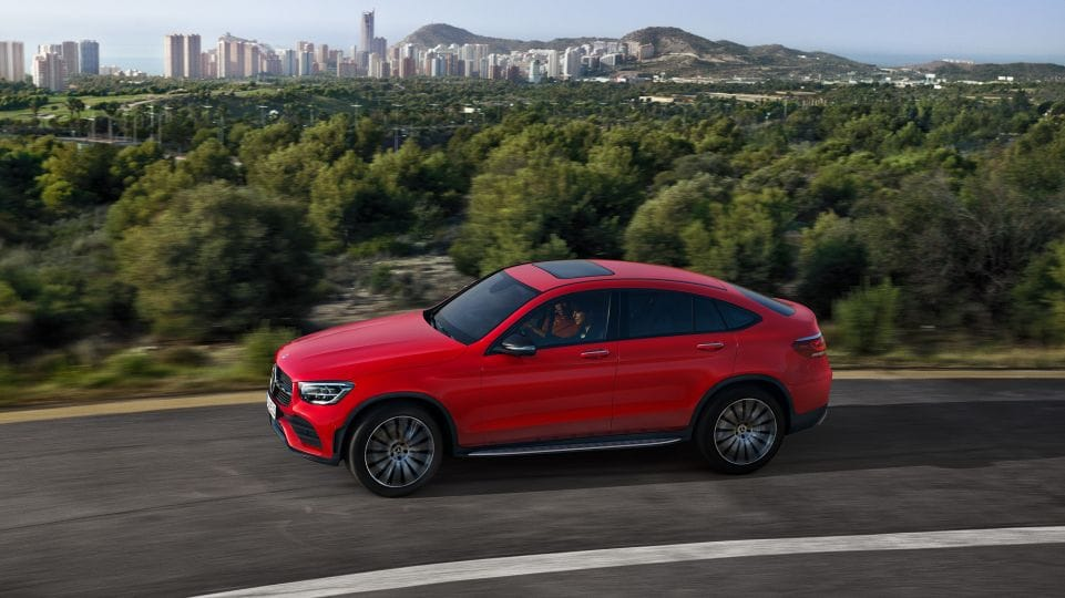 Mercedes-Benz GLC Coupe задние фары