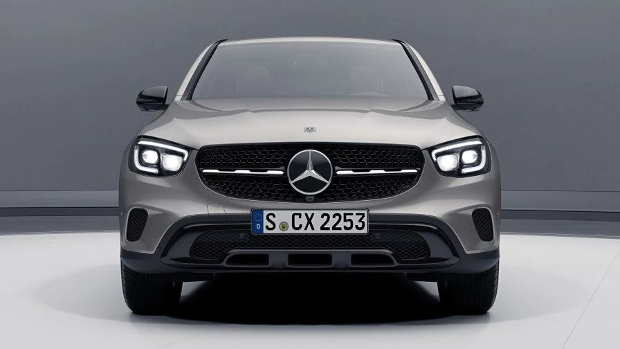 Новый Mercedes Benz GLC Coupe Пакет парковки