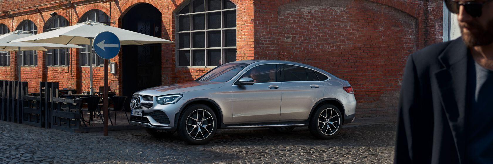 Дизайн Mercedes–Benz GLC Coupe 2020
