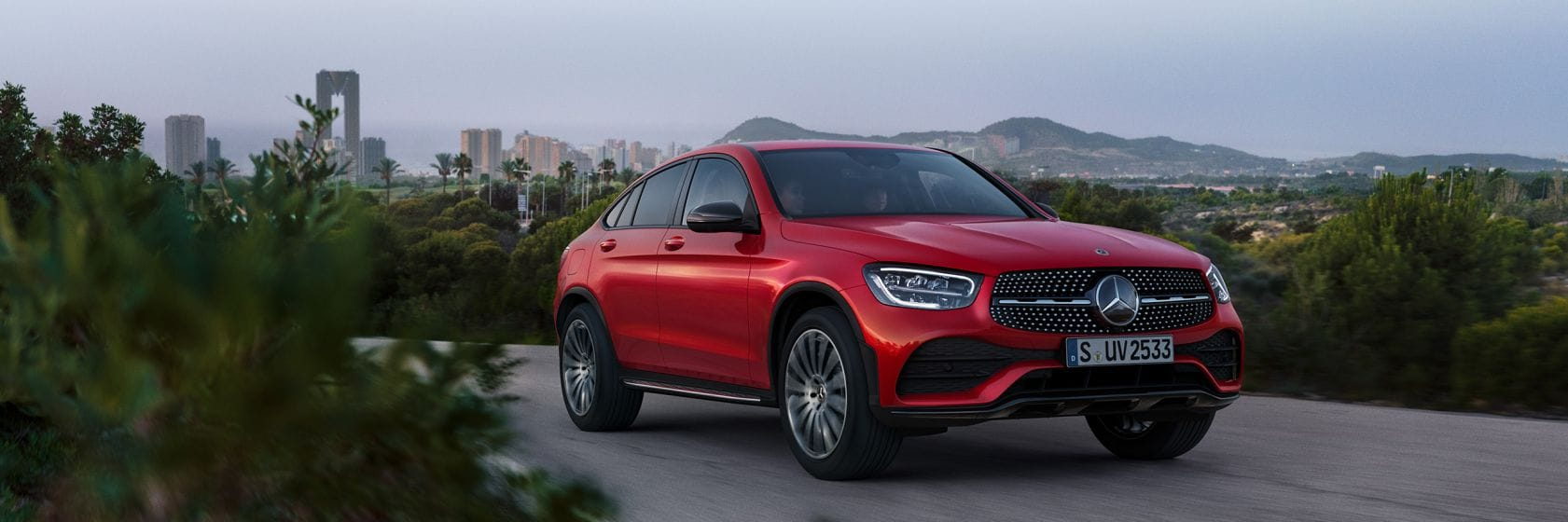 Интерьер и экстерьер Mercedes–Benz GLC Coupe