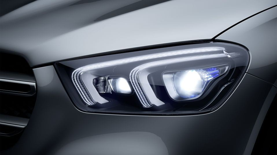 Новый автомобиль Mercedes-Benz GLE MULTIBEAM LED