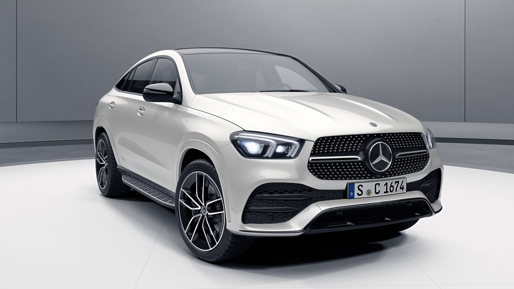 Новый автомобиль Mercedes-Benz GLE Coupe Пакет Night