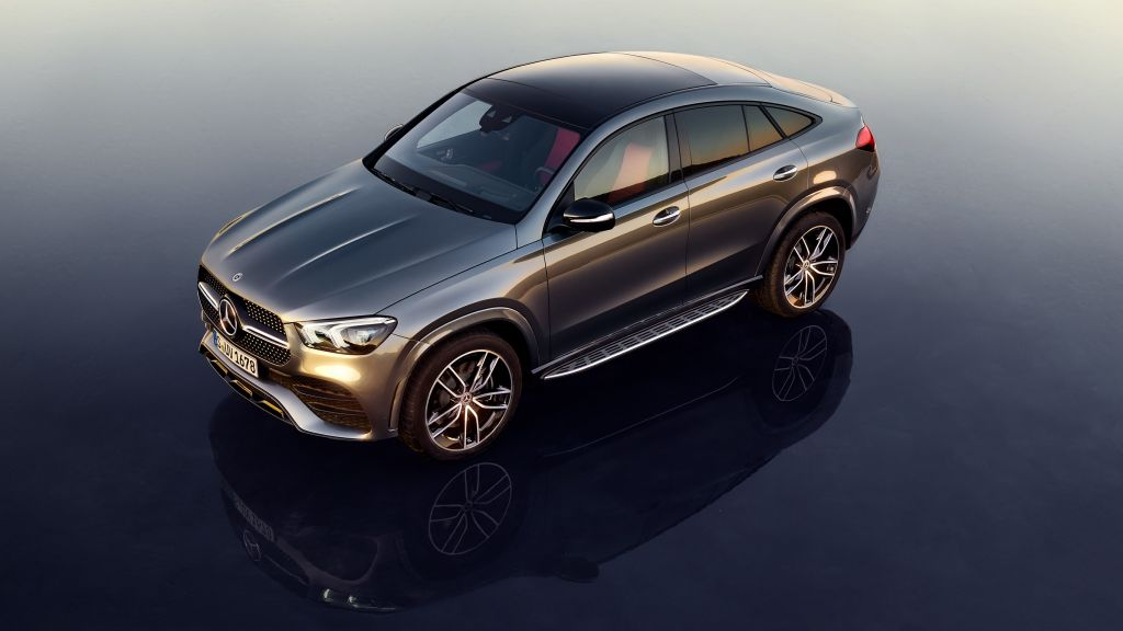 Внедорожник Mercedes-Benz GLE Coupe 2021