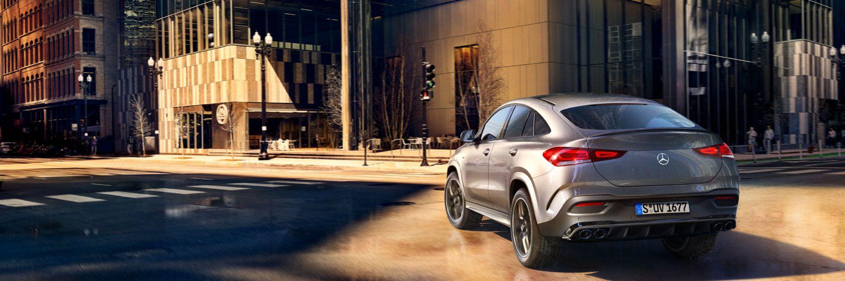 Безопасность Mercedes-Benz GLE Coupe