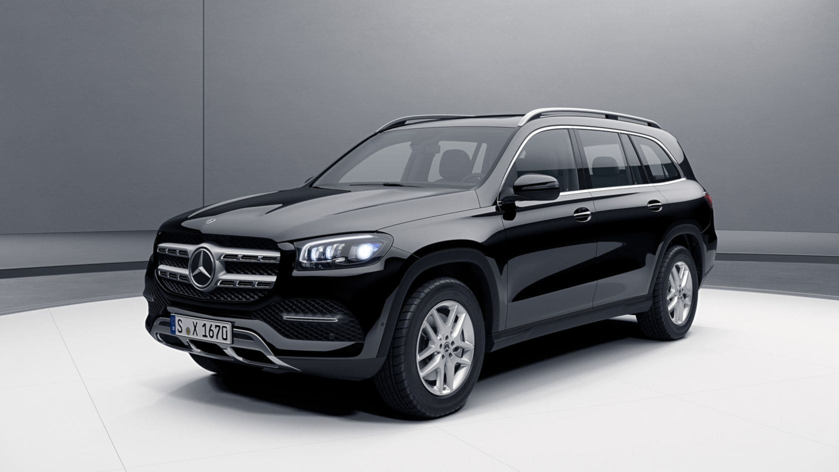 Новый Mercedes Benz GLS голосовое управление MBUX