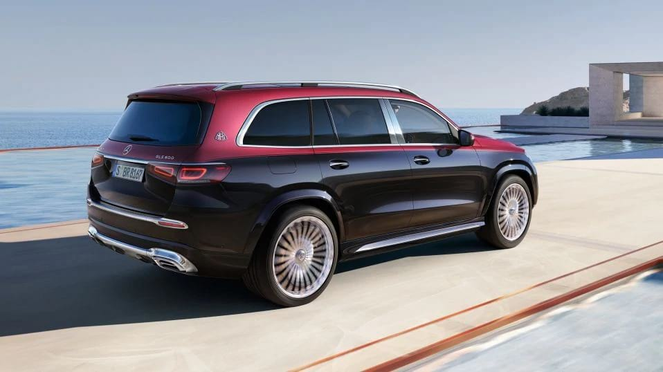 Новый Mercedes Maybach GLS 600