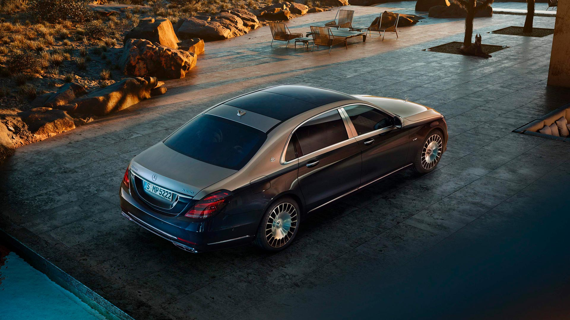 Технологии Mercedes–Maybach S-class Limousine