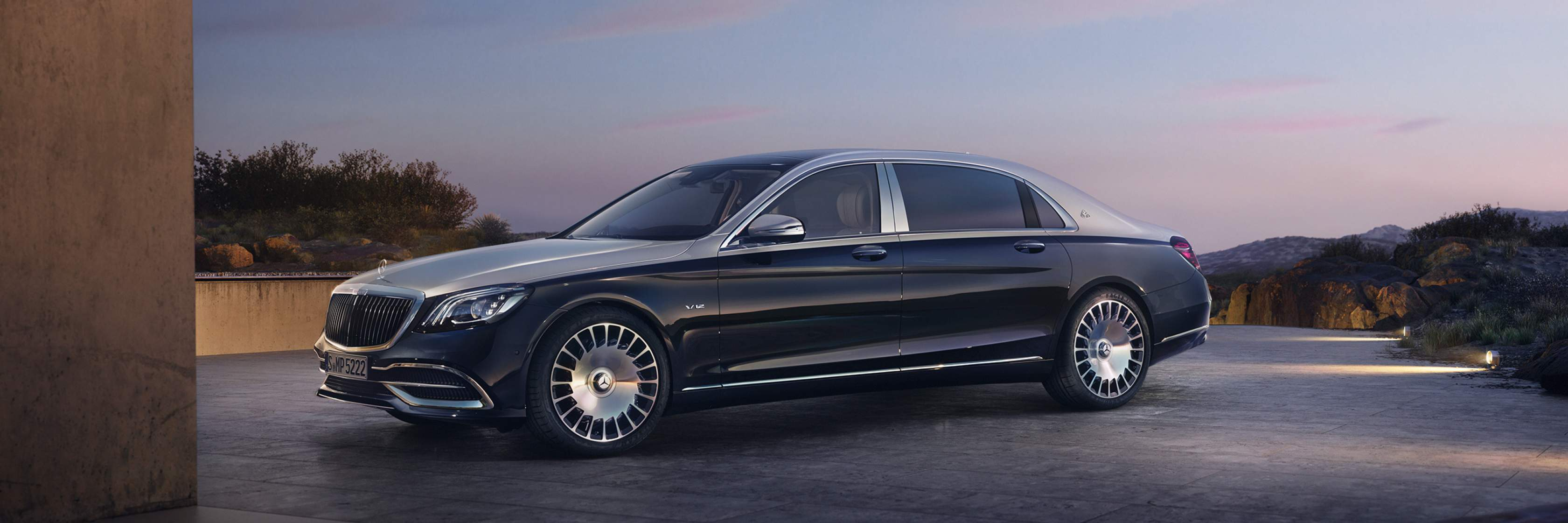 Обзор Mercedes-Maybach