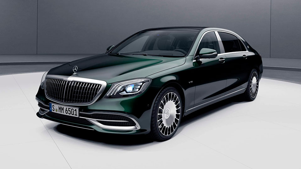 Mercedes-Benz S-Class Maybach вид спереди
