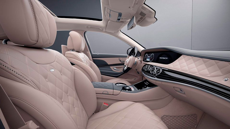 Mercedes-Benz S-Class Maybach  Интерьер designo