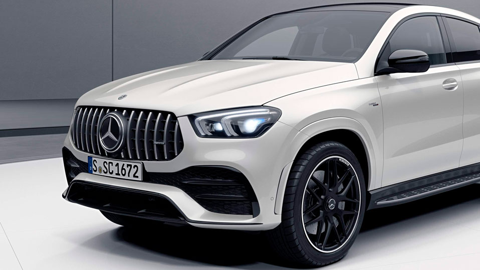 Новый Mercedes-AMG GLE Coupe Powerdomes