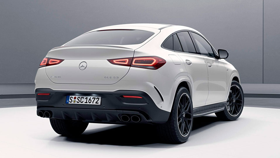 Новий автомобіль Mercedes AMG GLE Coupe задні фари