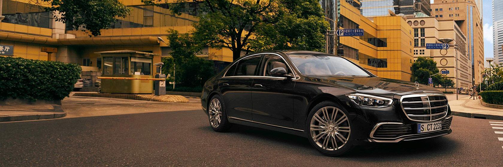 Безпека нового Mercedes-Benz S-Class Sedan wv223 2021