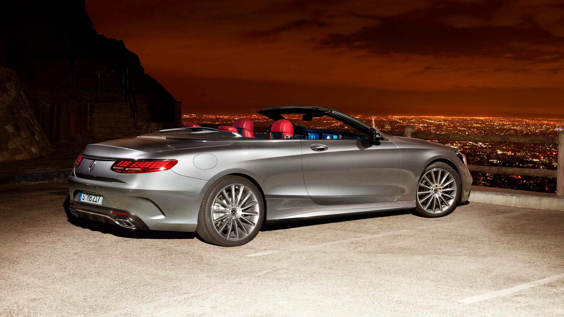 Система MAGIC BODY CONTROL Mercedes-Benz S-Class Cabriolet