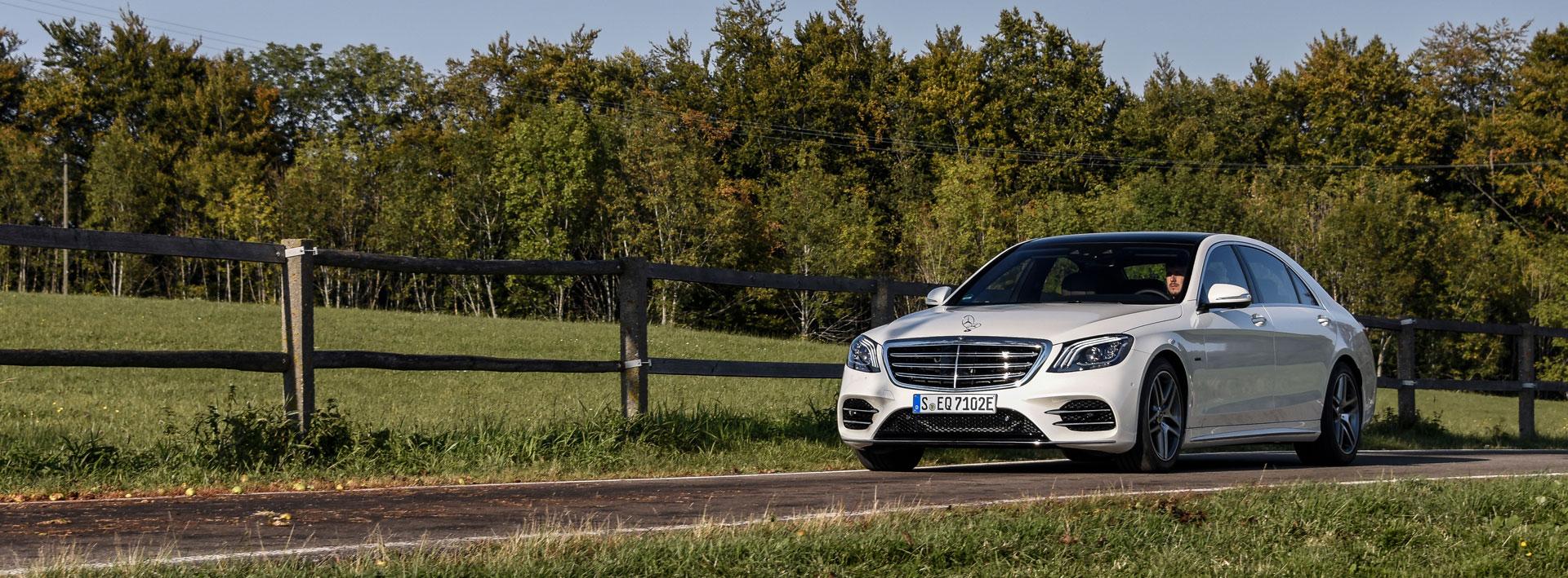 Унікальні умови на покупку Mercedes-Benz S-Class