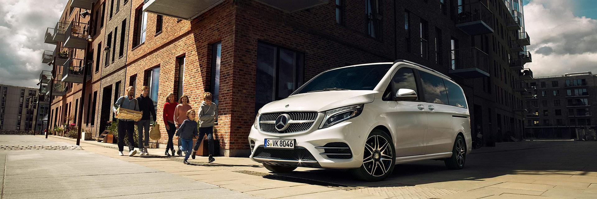 Безопасность Mercedes-Benz V-Class 2021