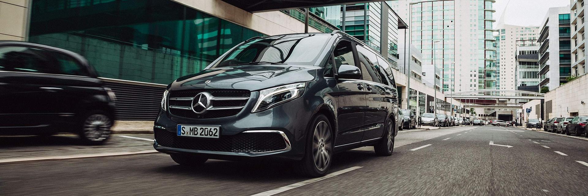 Технічні дані Mercedes-Benz V-Class 2021