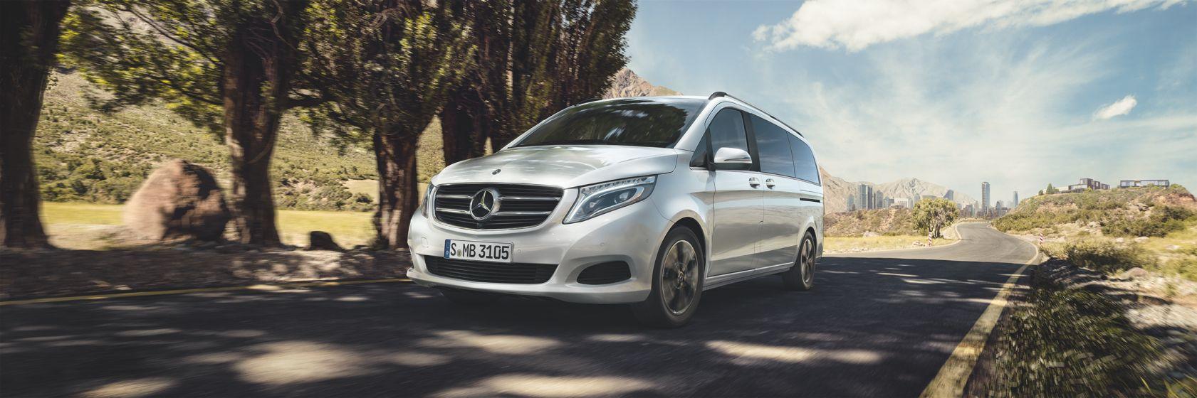 Интерьер и экстерьер Mercedes–Benz V–Class