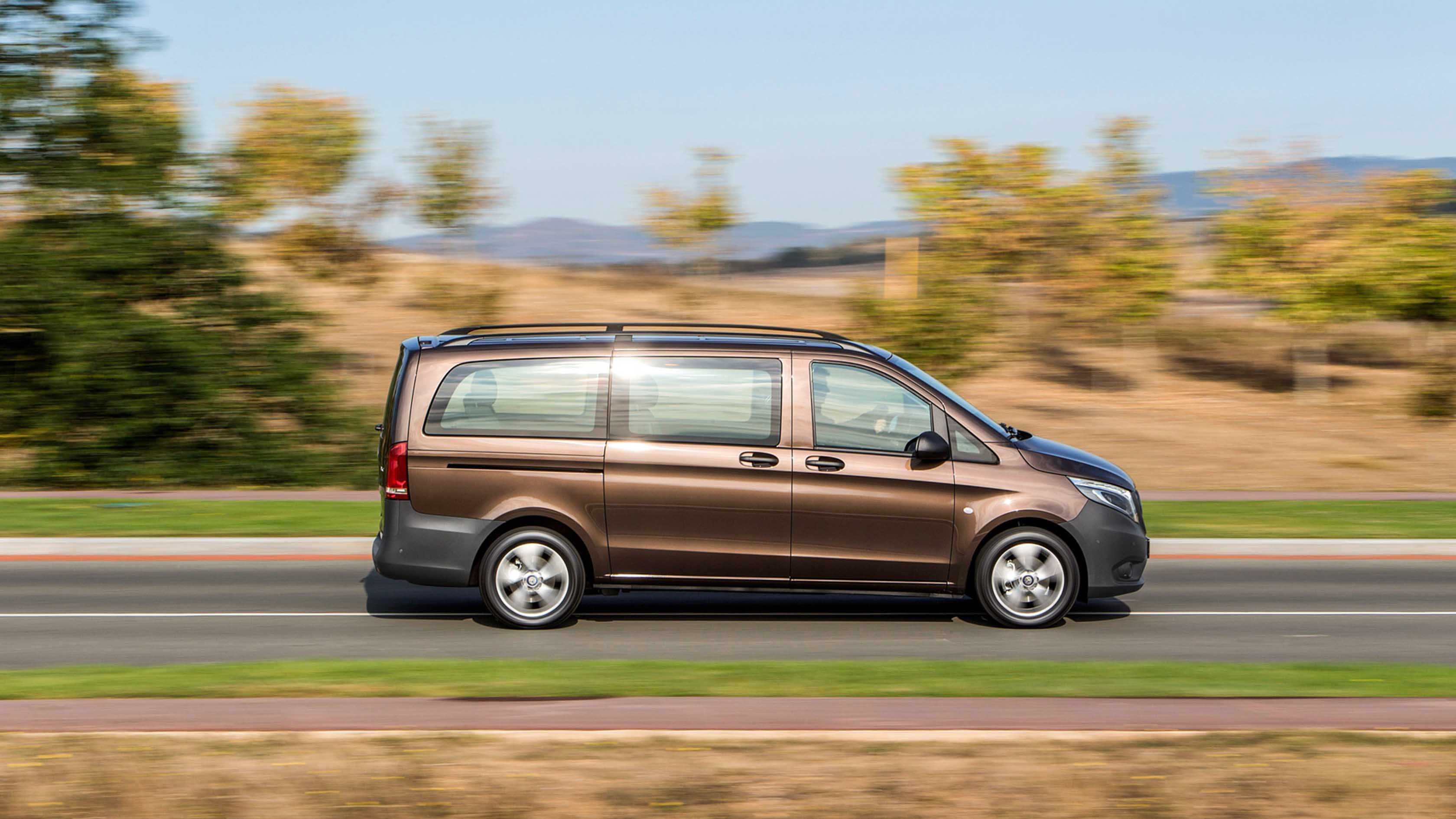 Безопасность Mercedes-Benz Vito Tourer