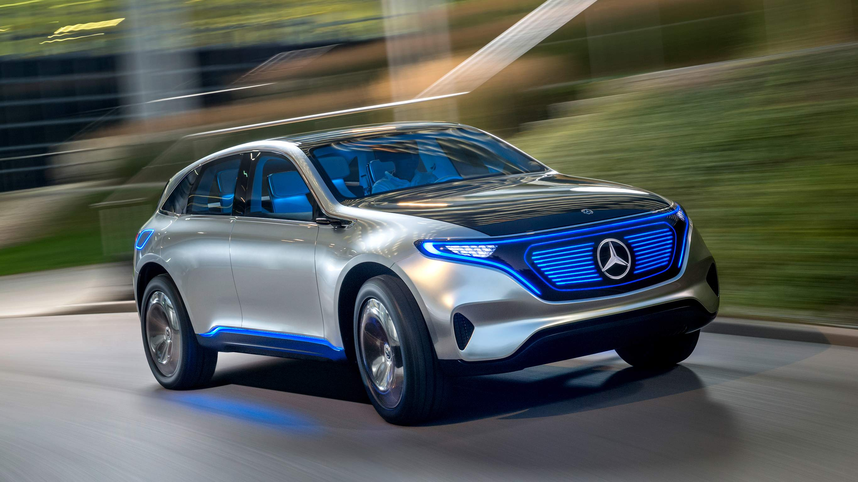 Mercedes-Benz Concept EQ вид спереди