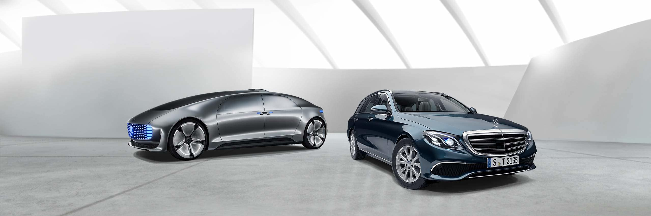 Инновационные технологии Mercedes-Benz
