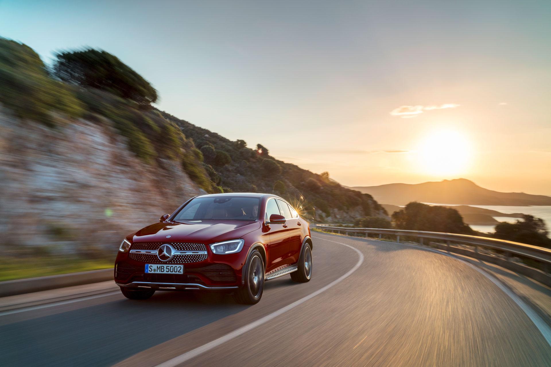Mercedes-Benz GLC Coupe 2019 представлен официально
