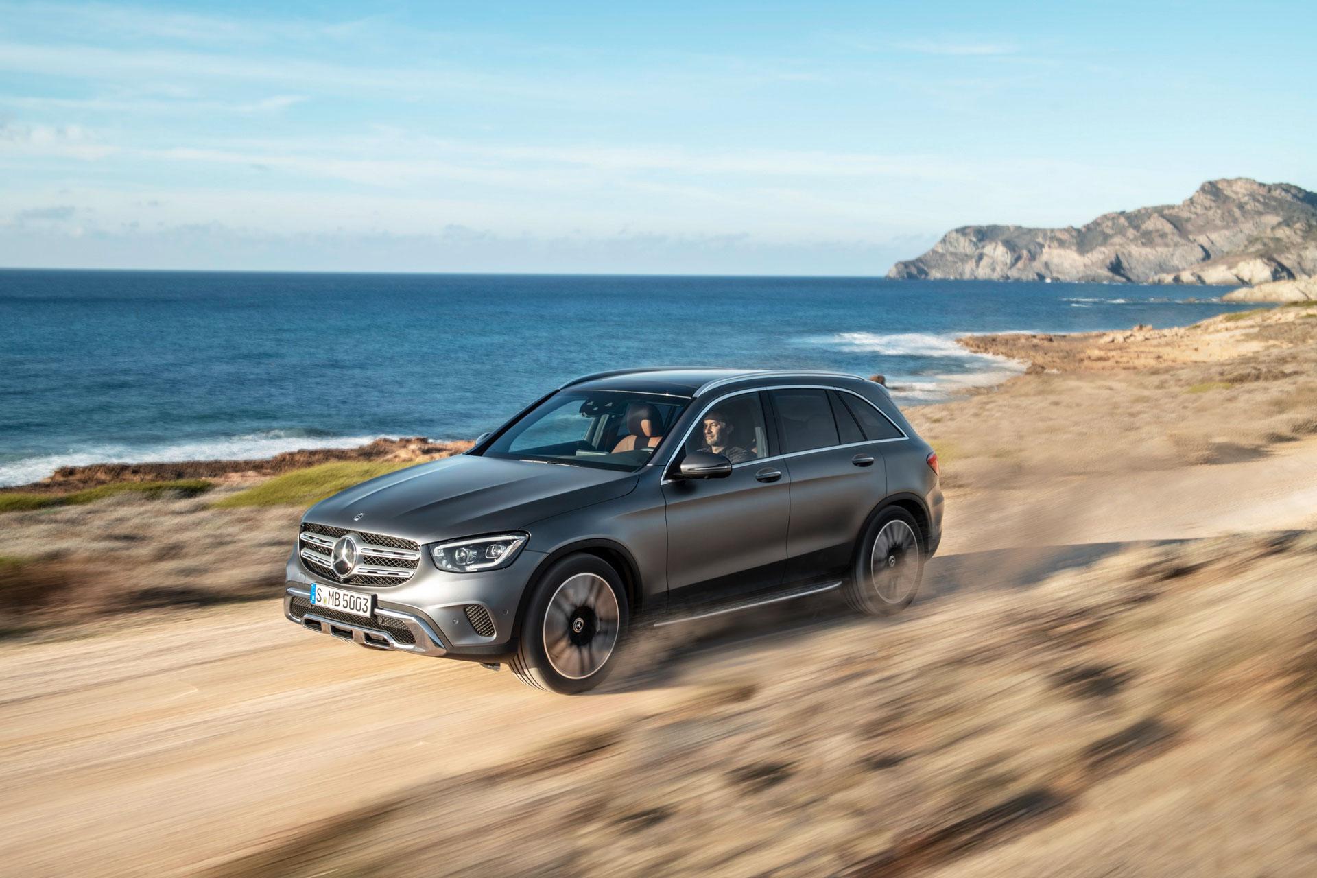 Новий Mercedes-Benz GLC 2019 буде доступний до замовлення в Європі вже в квітні