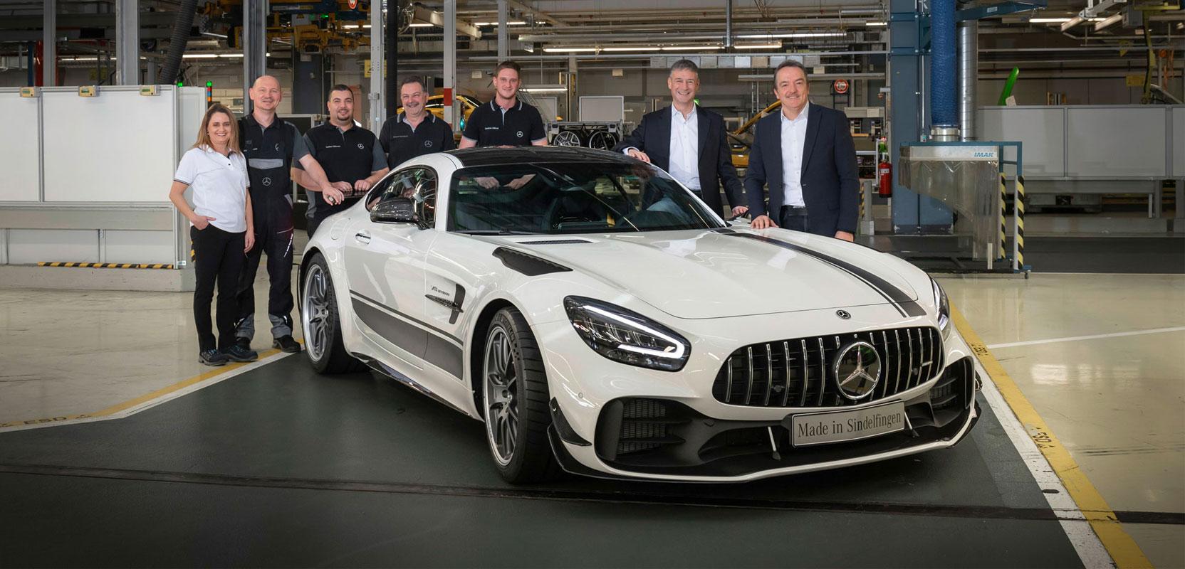 Новый Mercedes-AMG GT 2019 официально запущен в серийное производство