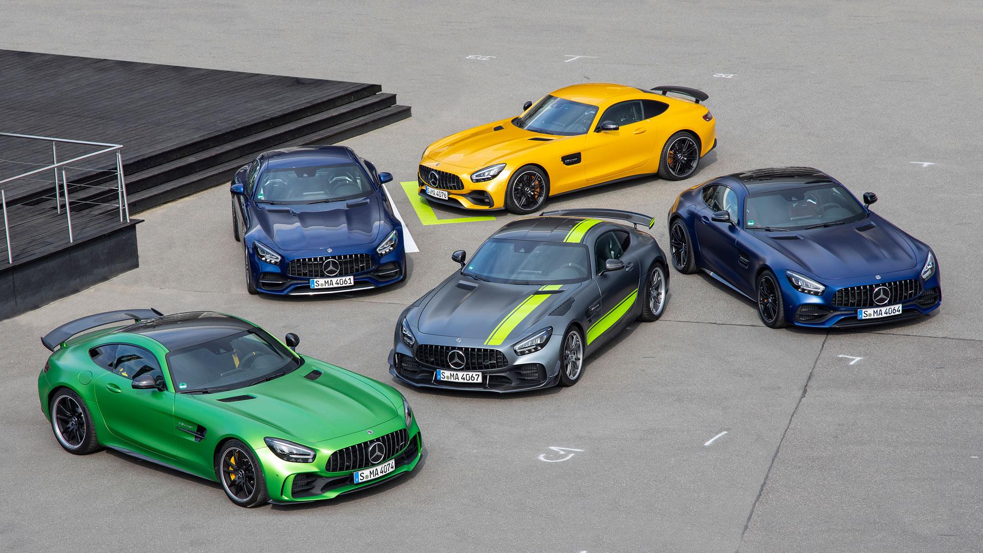 Новые Mercedes-AMG GT и AMG GT R PRO 2019: Квинтэссенция динамики и технологий
