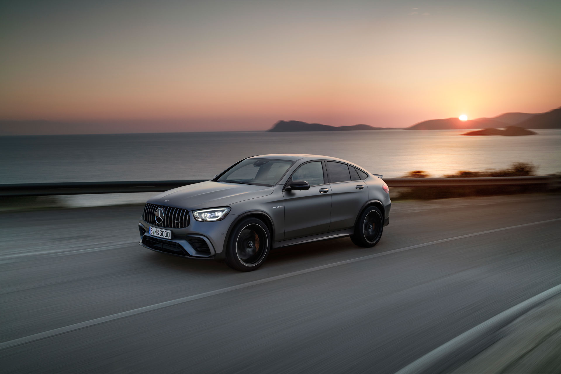 Автомобіль Mercedes-AMG GLC 63 4MATIC