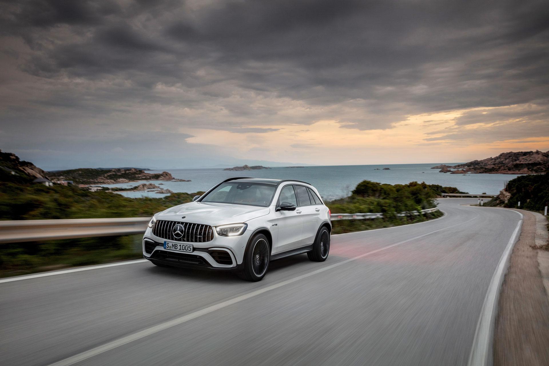 Нові опції для Mercedes-AMG GLC 63 4MATIC