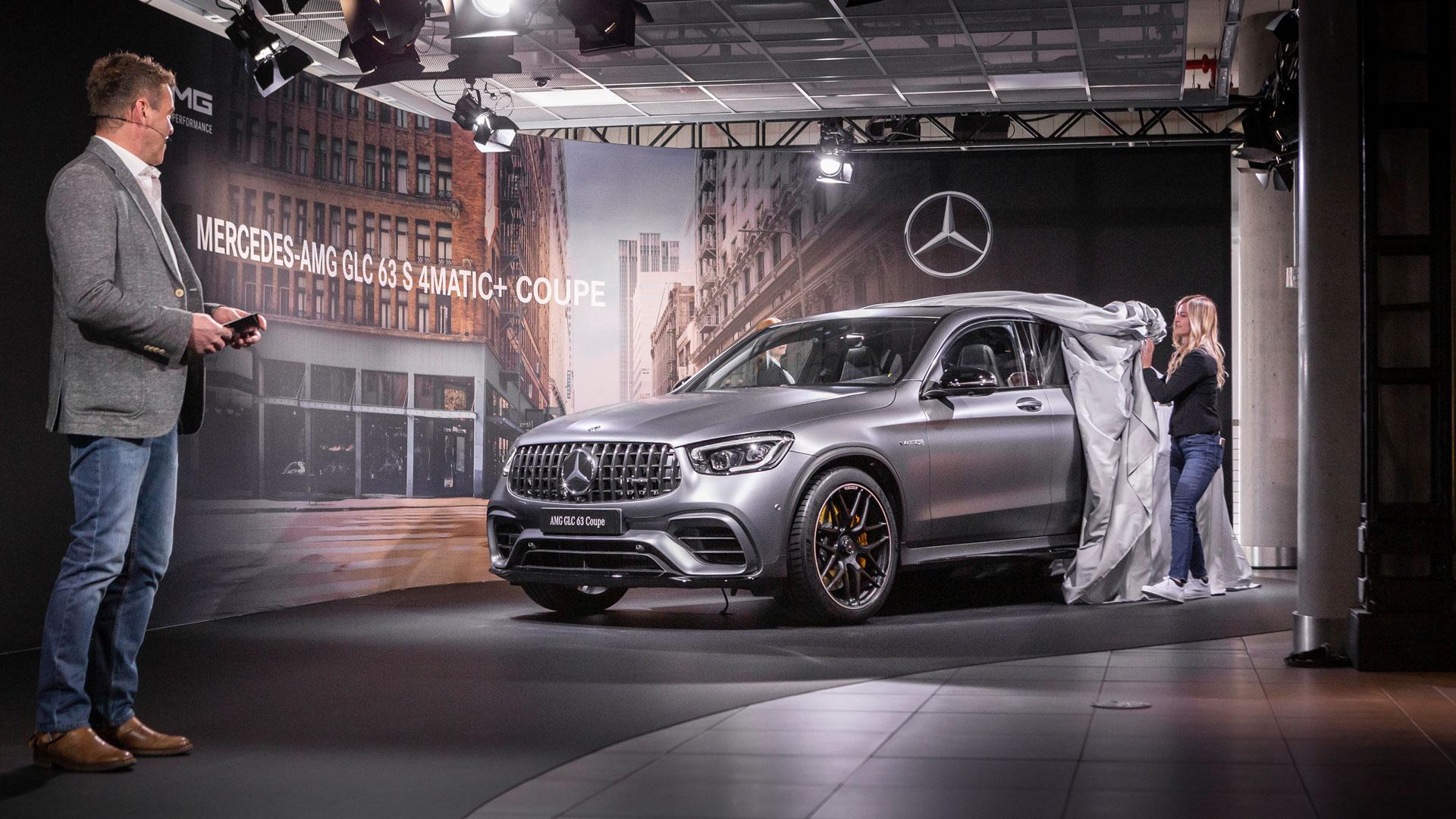 Mercedes-Benz покаже новий GLS-Class і новий Mercedes-AMG GLC 63 на цьому тижні в Нью-Йорку
