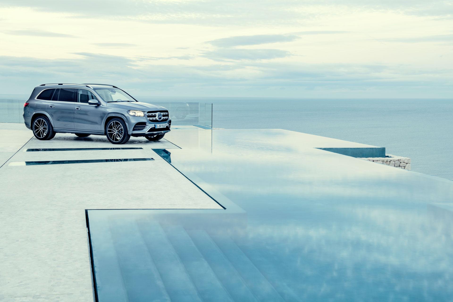 Новый Mercedes-Benz GLS доступен к заказу с 24 апреля
