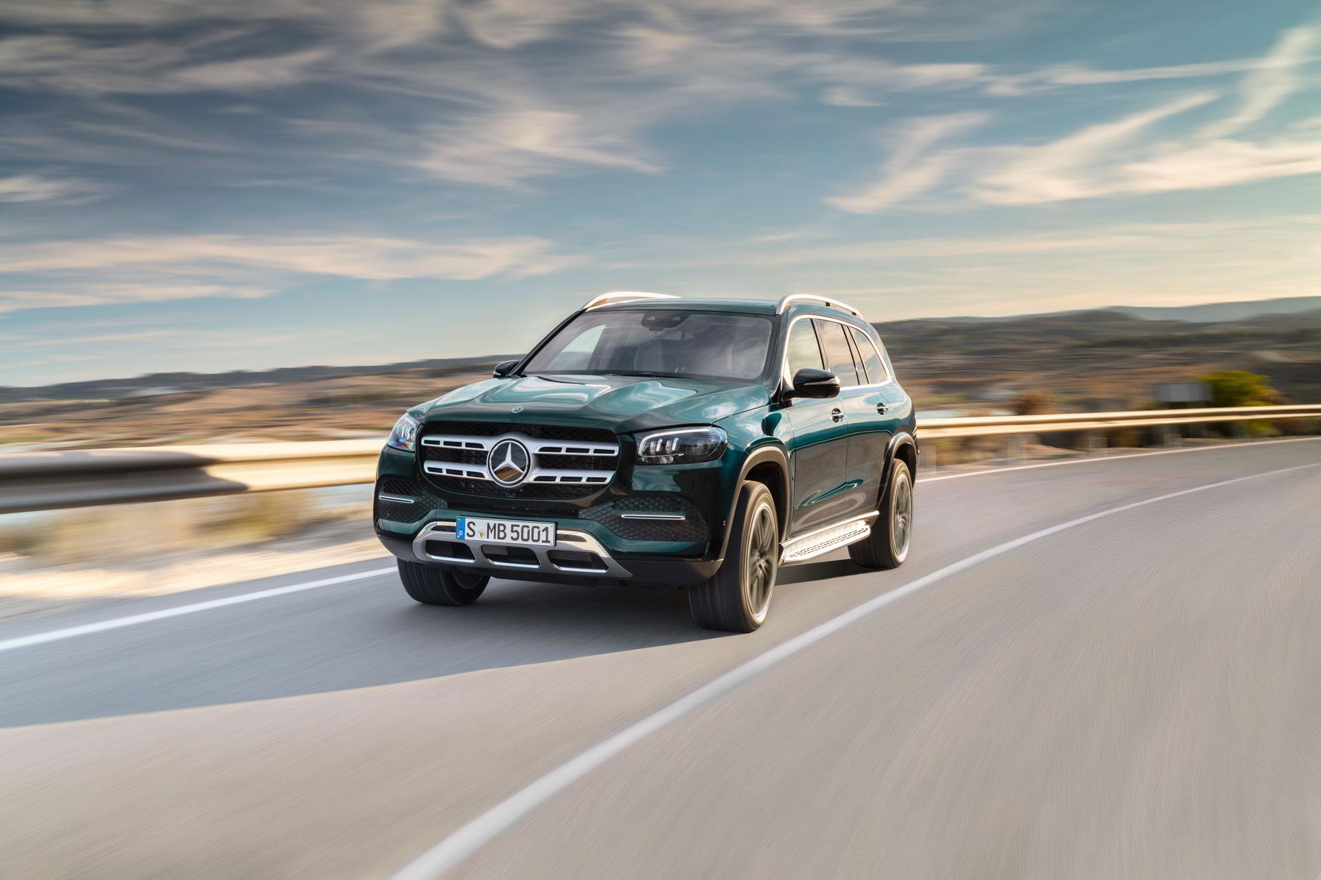 Новий Mercedes-Benz GLS 2019 вже доступний до замовлення: ціни і опції