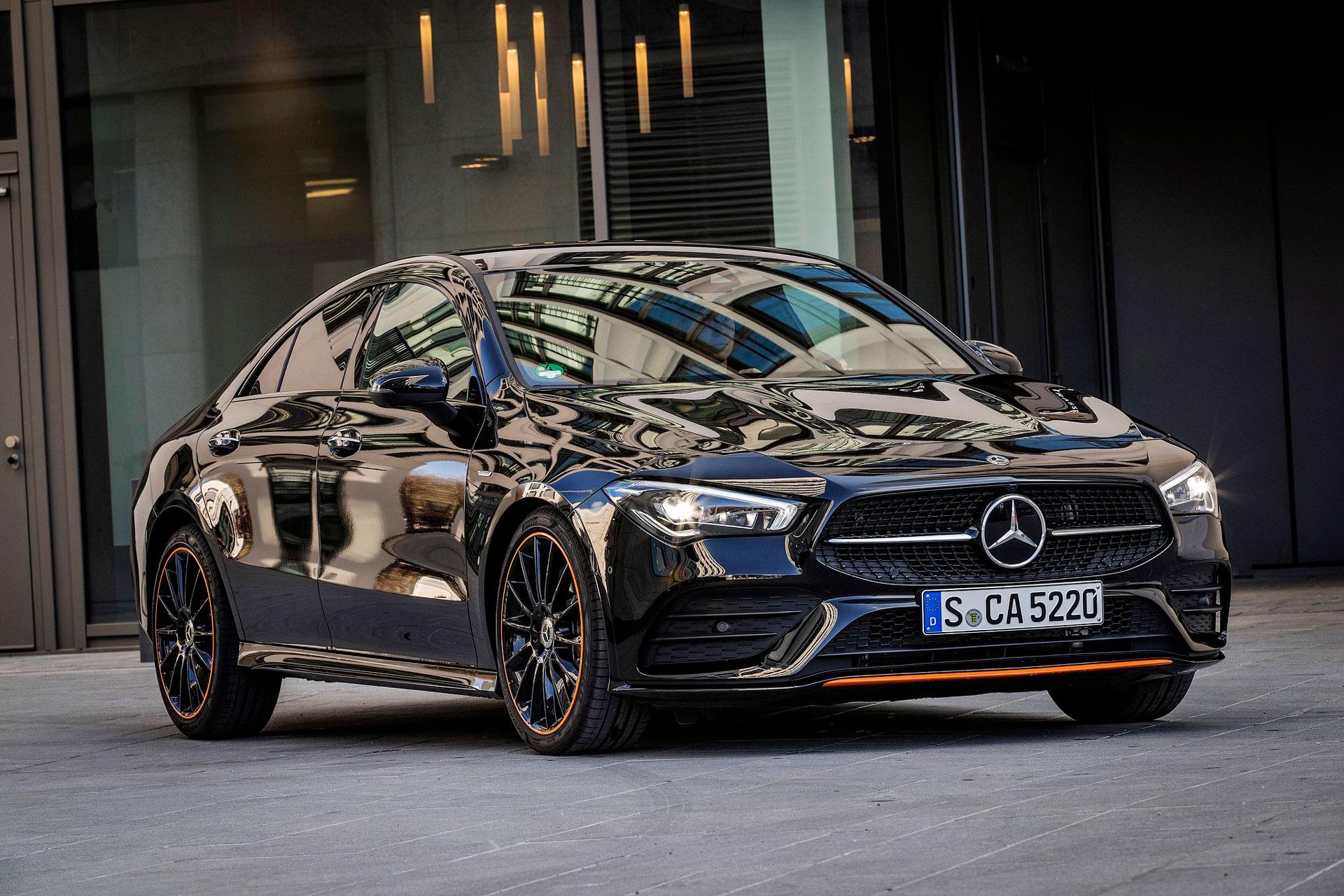Mercedes-Benz CLA Coupe Edition 1: есклюзивне обладнання та опції