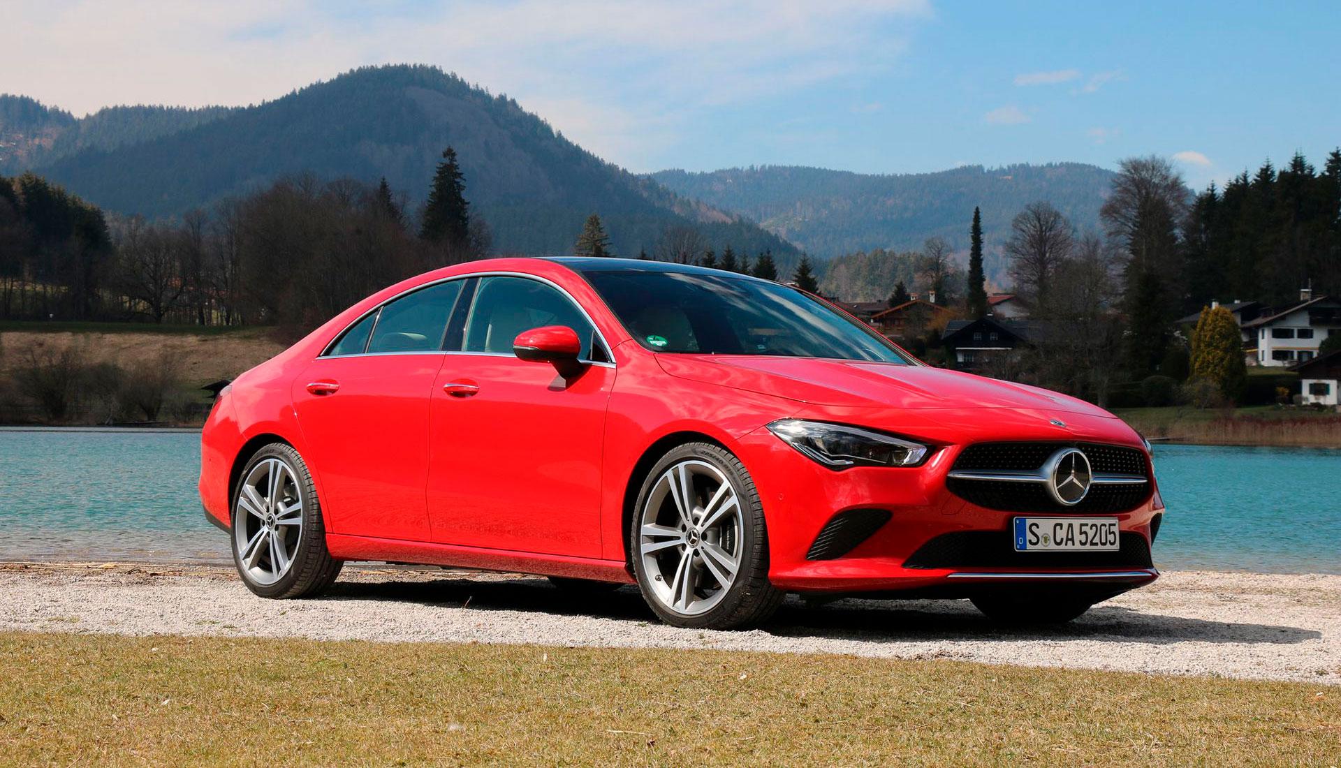 Новий Mercedes-Benz CLA Coupe: перший тест-драйв