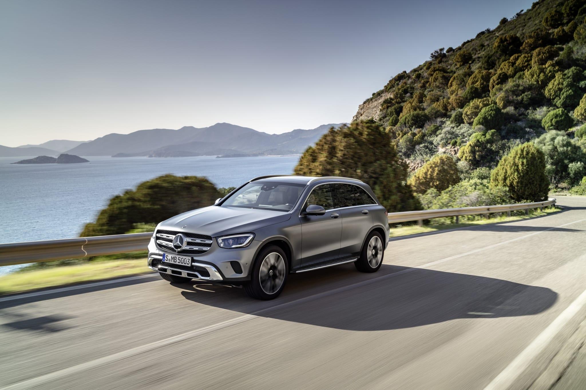 Mercedes-Benz GLC 400 d 4MATIC: дата выхода в Европе