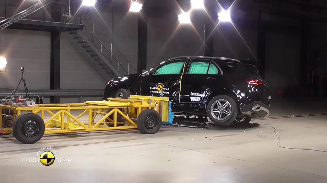 Mercedes–Benz GLE 2019 получил высший рейтинг Euro NCAP