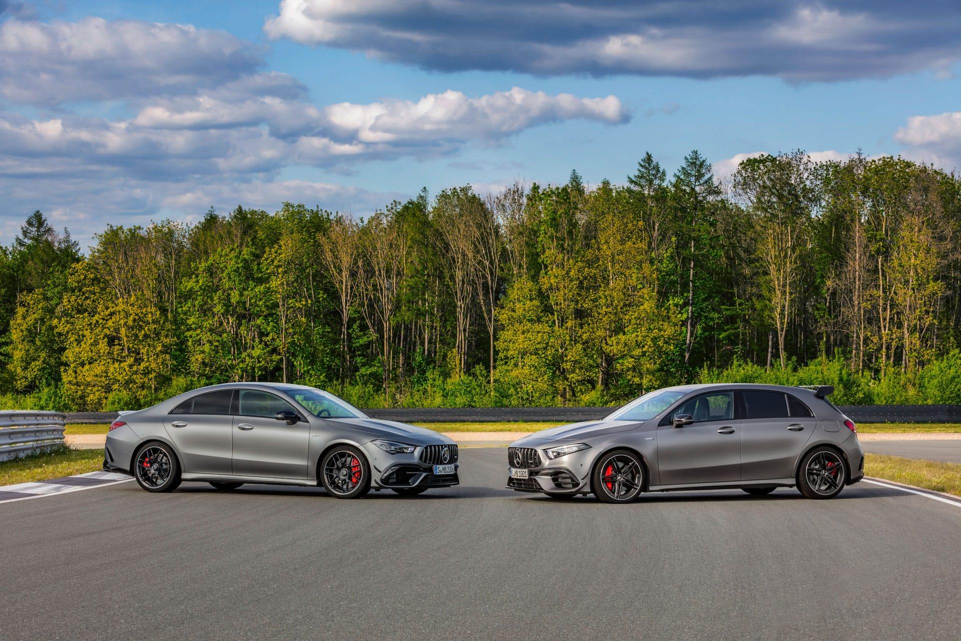 Официально представлены Mercedes–AMG A 45 4MATIC и CLA 45 4MATIC