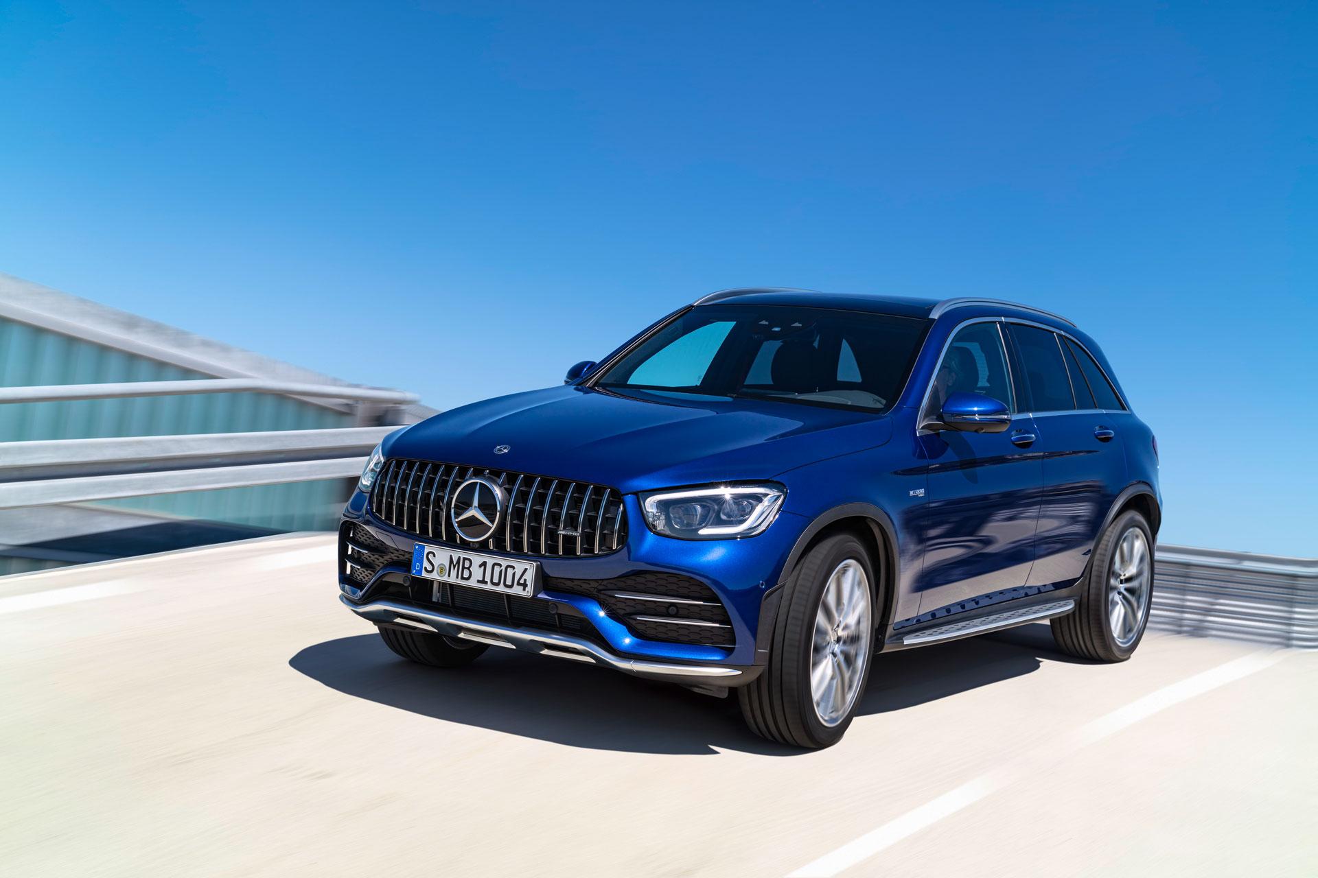 Офіційно представлений новий Mercedes–AMG GLC 43 4MATIC