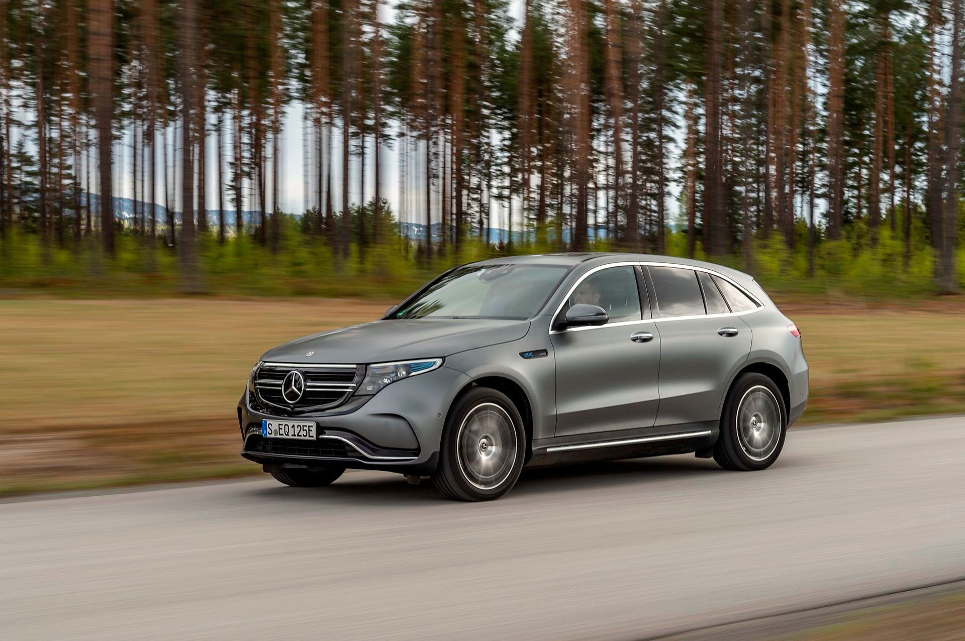 Тест-драйв Mercedes-Benz EQC 400 4MATIC в Норвегии