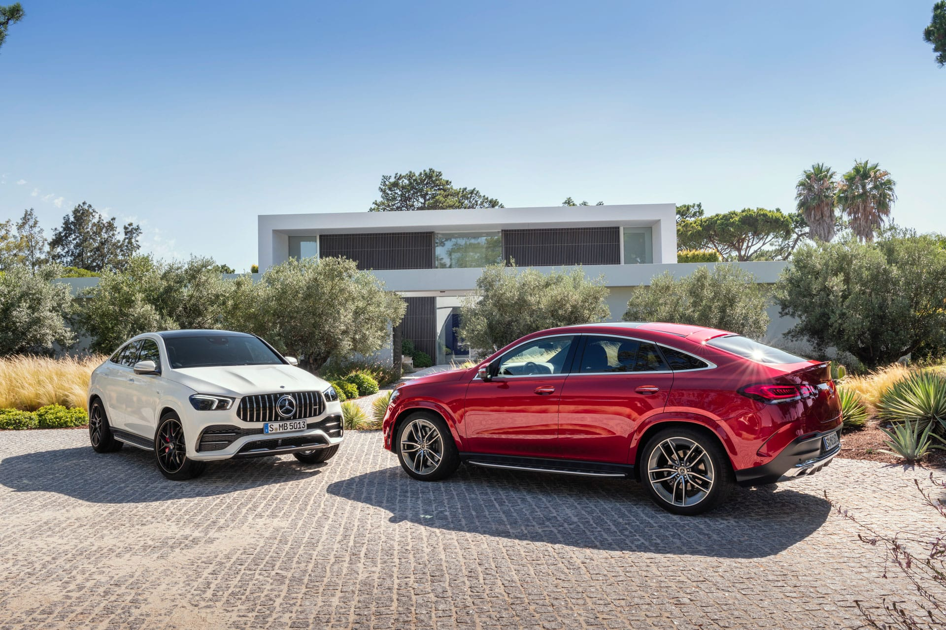 Mercedes-Benz GLE Coupe 2020 и Mercedes-AMG GLE 53 4MATIC