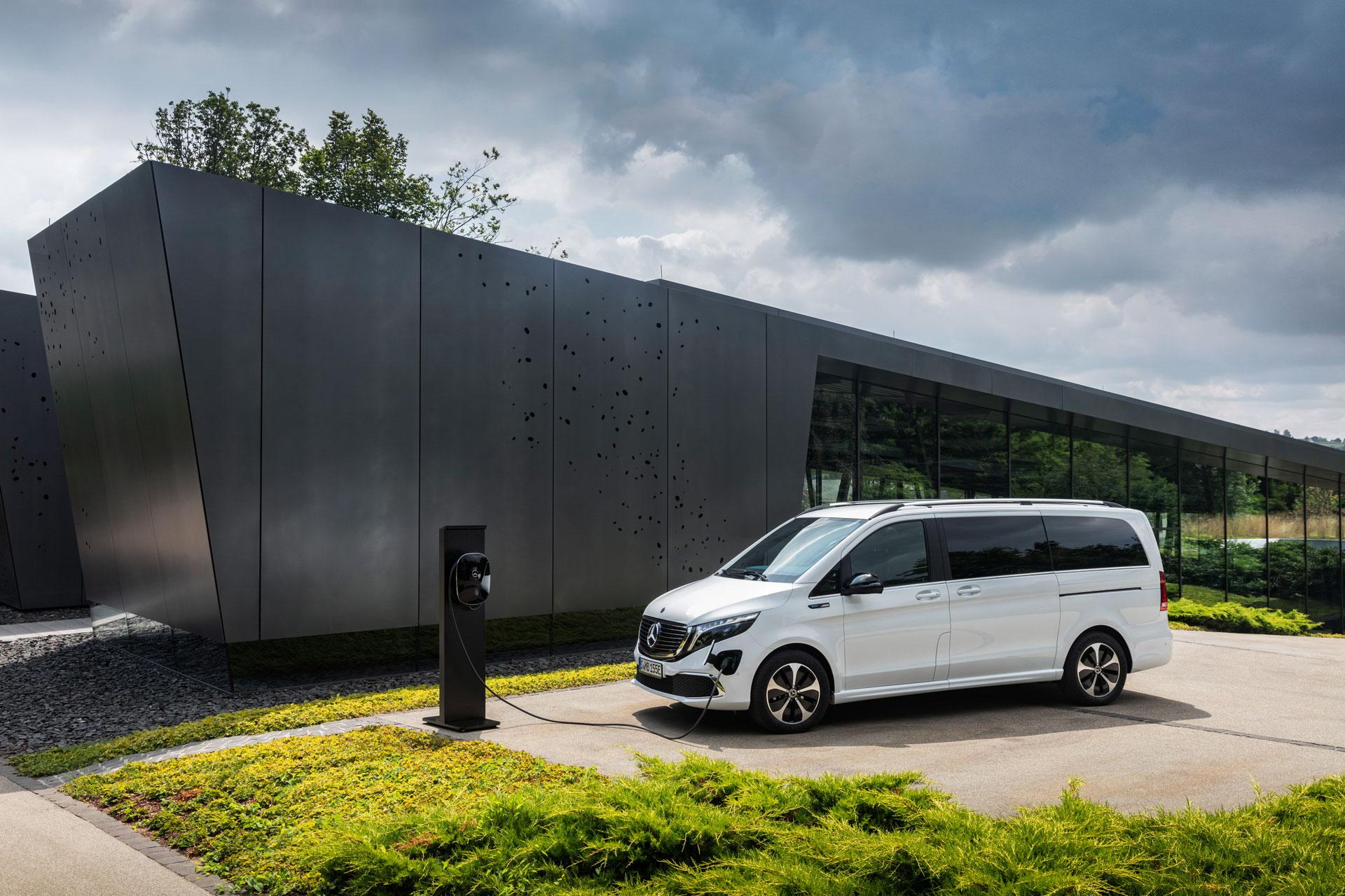 Mercedes–Benz EQV: реліз першого електричного мінівена
