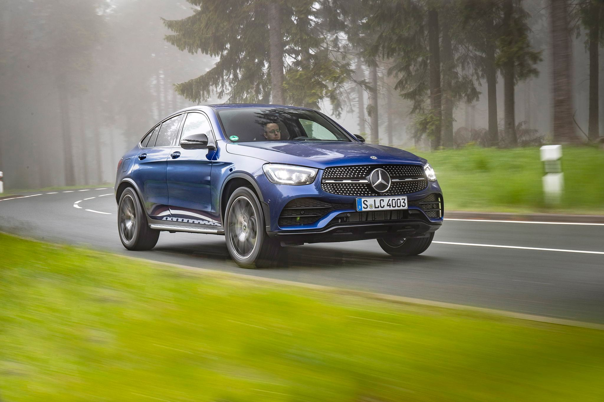 Mercedes–Benz GLC 300 Coupe: тест–драйв после рестайлинга