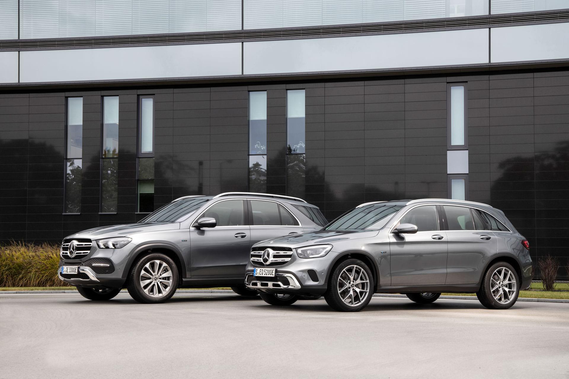 Mercedes-Benz GLE 350 і GLC 300: плагін-гібриди третього покоління