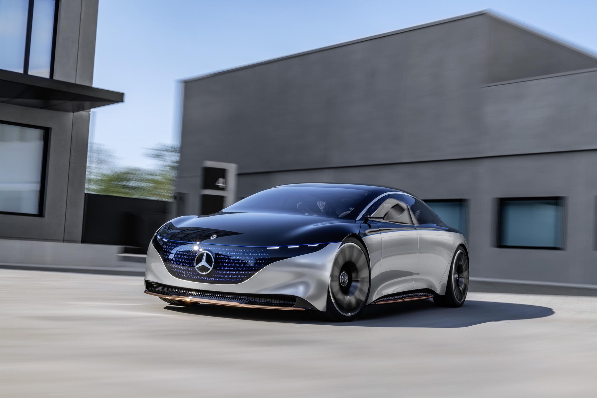 Електричний концепт Mercedes-Benz EQS: вся інформація і фотографії